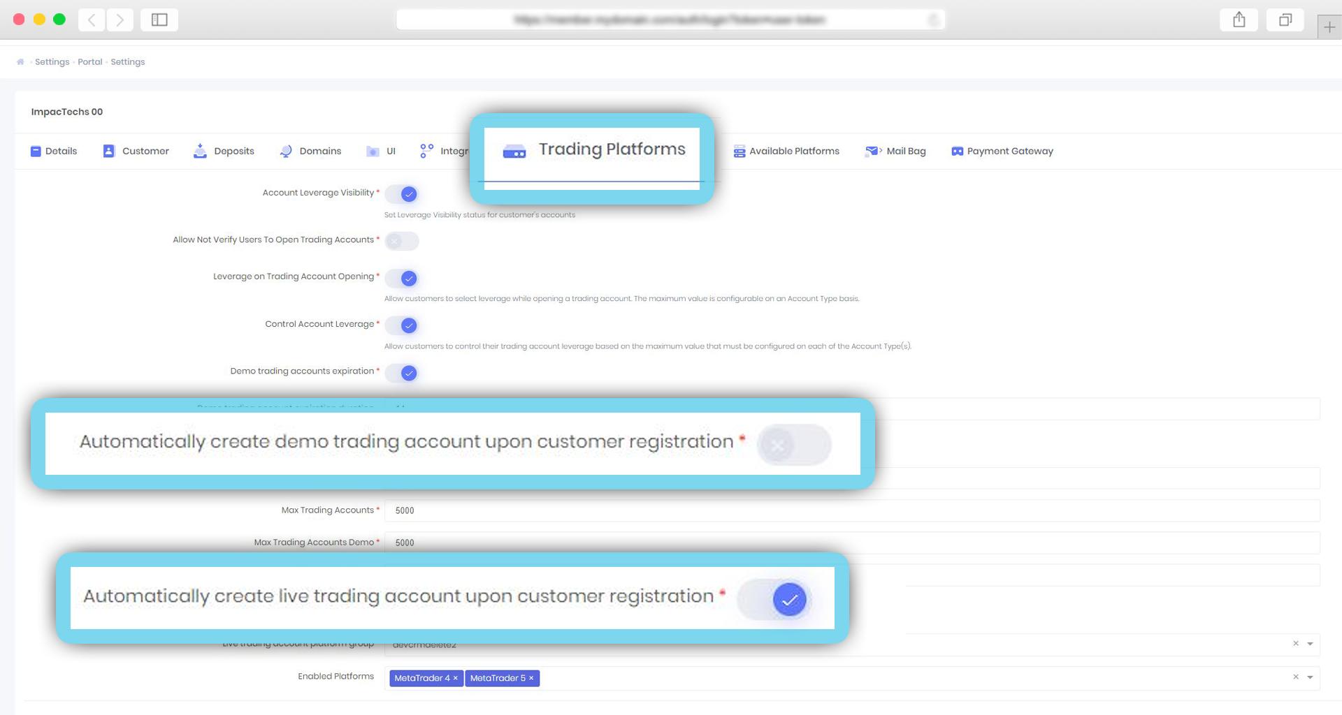 Trading platforms 3