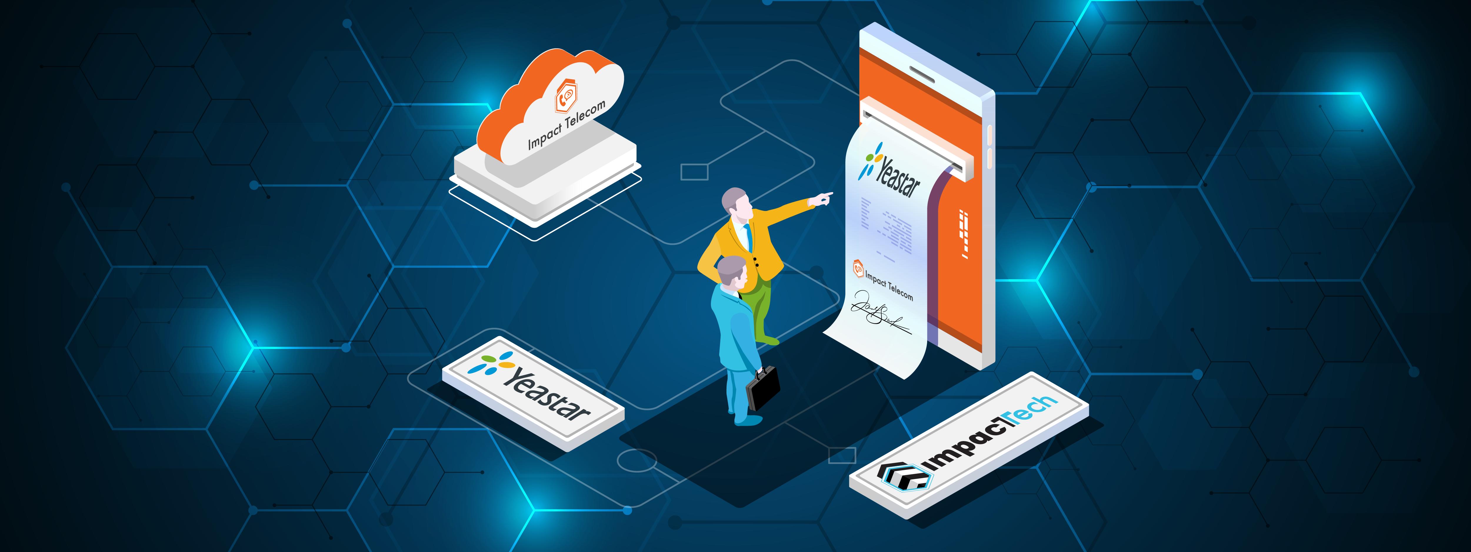 Yeastar Cloud PBX partnership